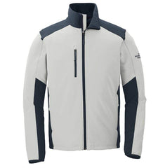 North Face Outerwear S / Grey / Navy The North Face® - Men's Tech Stretch Soft Shell Jacket