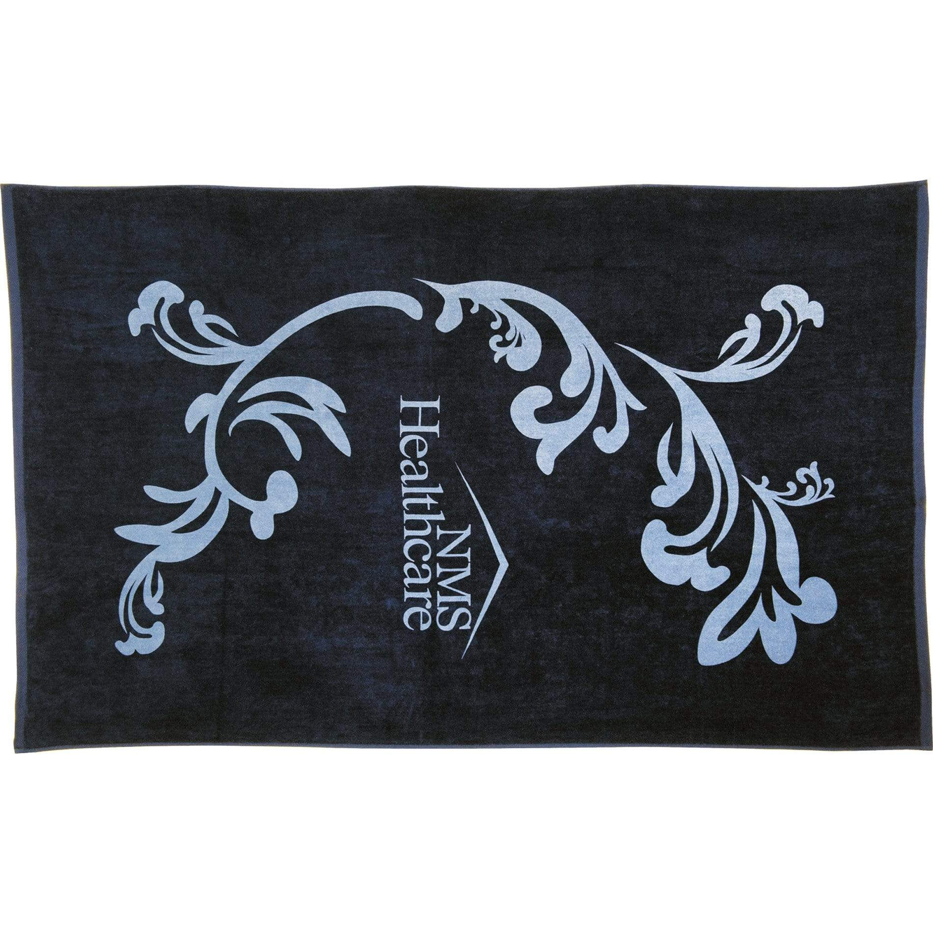 "Protowels Accessories 30"" x 60"" / Black Cotton Beach Towel - 30″ x 60″"