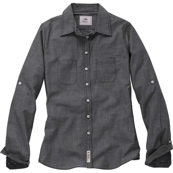 Roots Woven Shirts XS / Black Dark Roots - Women's CLEARWATER Shirt