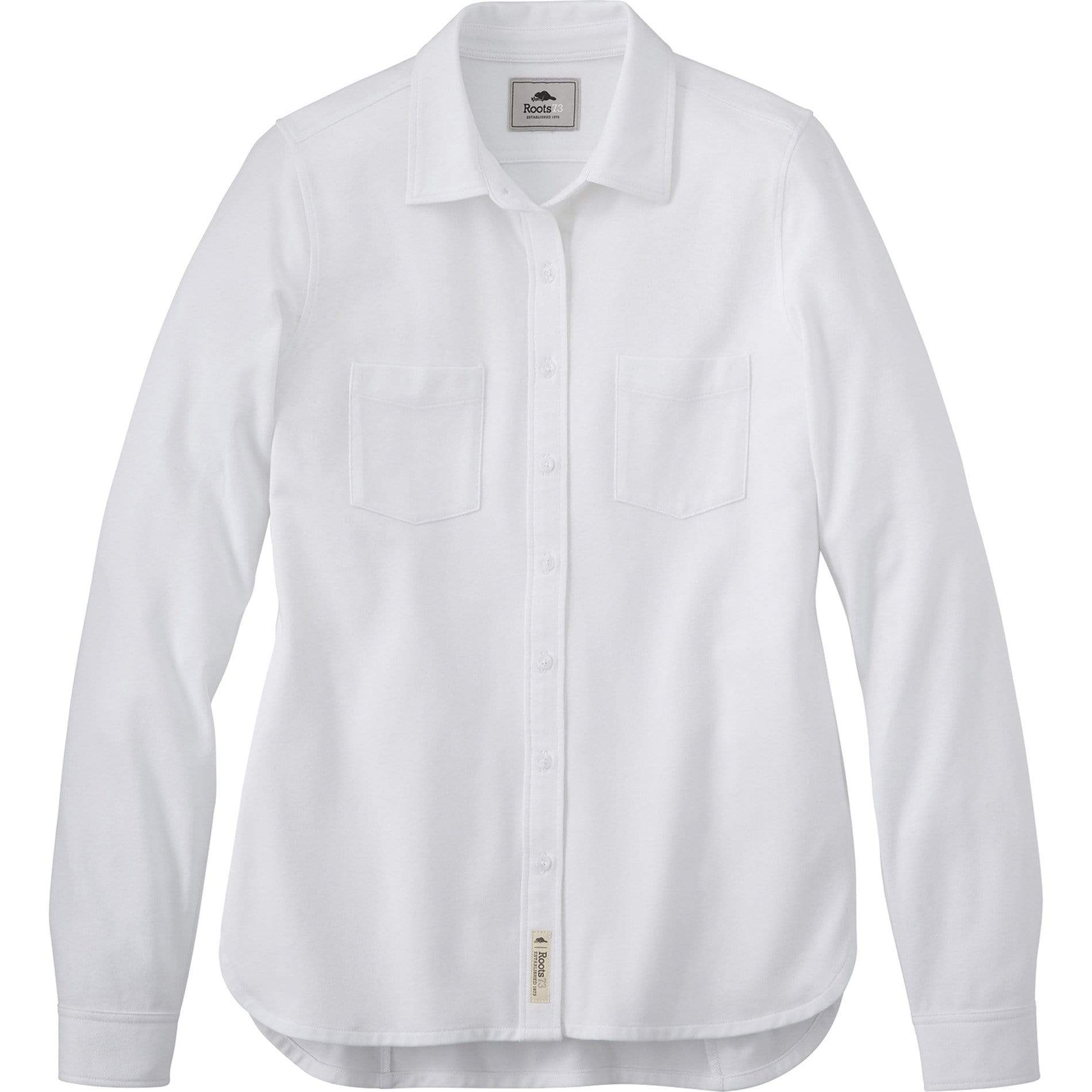 Roots Woven Shirts XS / White Roots73 - Women's BAYWOOD Shirt