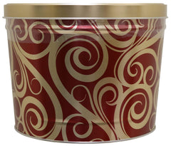 Rural Route 1 Accessories Rural Route 1 - Holiday Golden Swirl POPCORN Tin