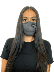 Ships in 16-21 business days. Minimum size pack of 48 Accessories 48 Mask Pack / Heavy Metal Decorated Eco 2 ply (Recycled poly / Cotton) washable Masks - starting at packs of 48
