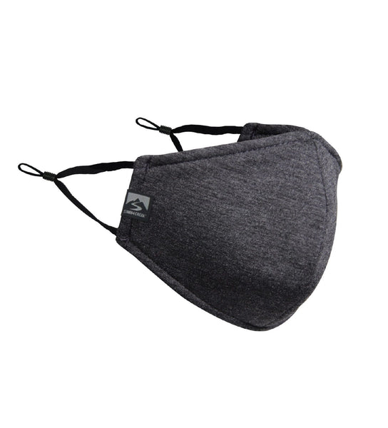 Storm Creek Accessories 25 piece minimum / Dark heather Grey Storm Creek - Logo'd EVERYDAY COMFORT NON-MEDICAL FACE MASK