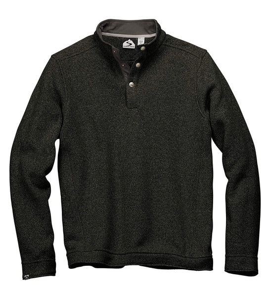 Storm Creek Fleece S / Cinder Storm Creek - MEN'S SNAP-FRONT SWEATERFLEECE PULLOVER
