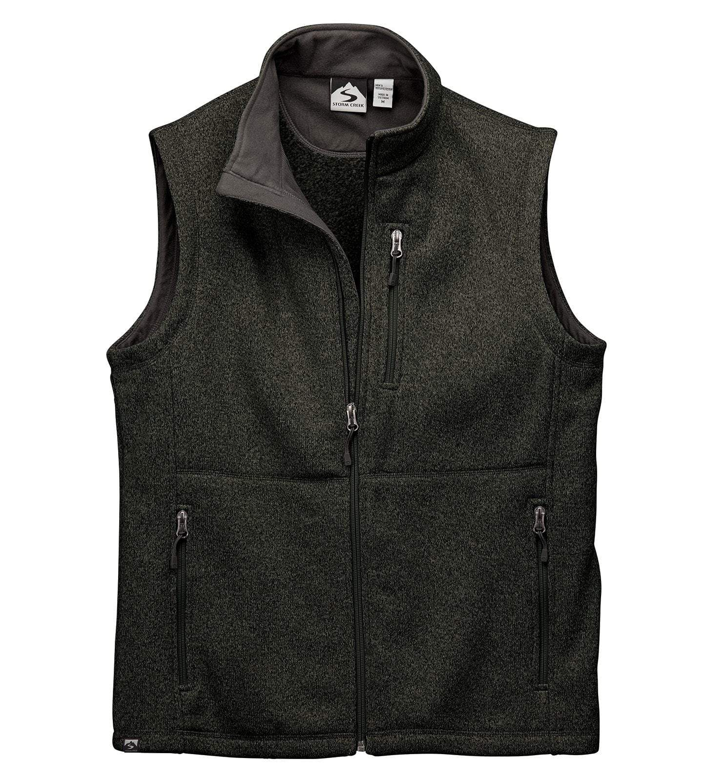 Storm Creek Fleece S / Cinder Storm Creek - MEN'S SWEATERFLEECE VEST