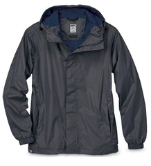 Storm Creek Outerwear S / Jet Grey Storm Creek - MEN'S WATERPROOF BREATHABLE PACKABLE RAIN JACKET