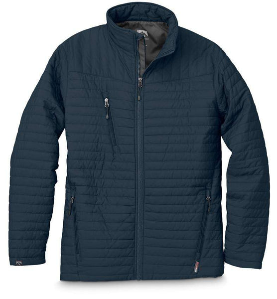 Storm Creek Outerwear S / Navy Storm Creek - Kerrin – Men's Quilted Thermolite® Jacket
