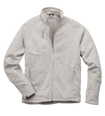 Storm Creek Outerwear S / Platinum Storm Creek - MEN'S SWEATERFLEECE JACKET