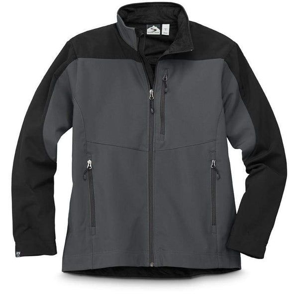 Storm Creek Outerwear S / TAR/BLACK Storm Creek - Sean – Men's Velvet Lined Softshell Jacket