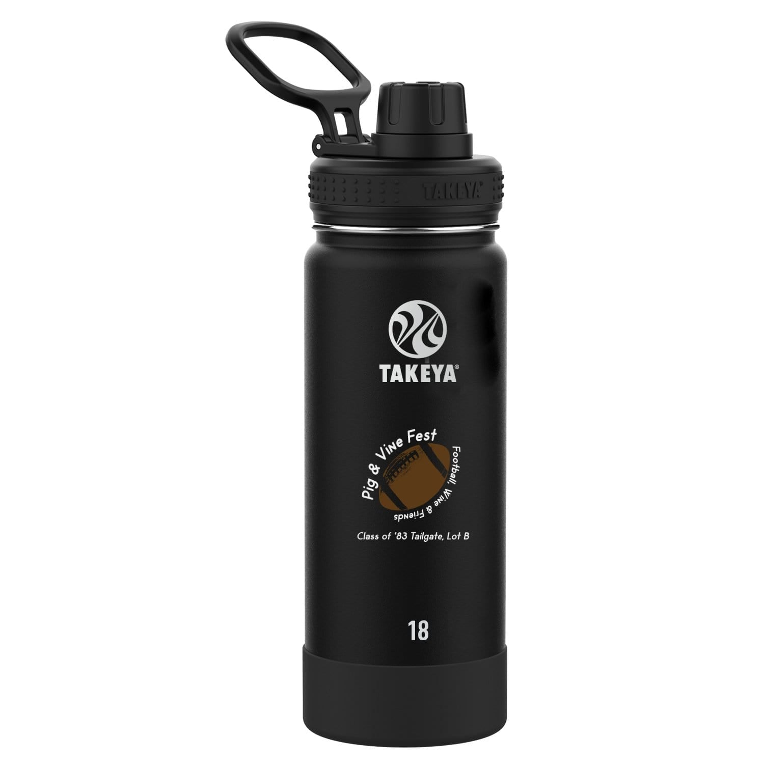 TAKEYA Accessories TAKEYA ACTIVES SPOUT LID 18 OZ