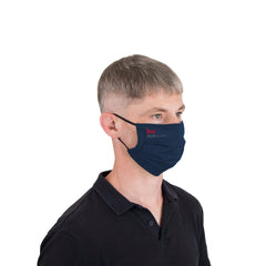 Threadfellows Accessories Logo'd Reusable Pleated Face Mask