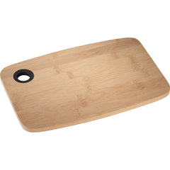 Threadfellows Accessories One size / Black Bamboo Cutting Board with Silicone Grip
