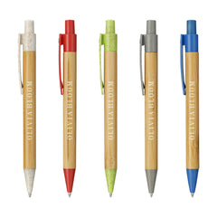 Threadfellows Accessories Wheat Straw Bamboo Ballpoint