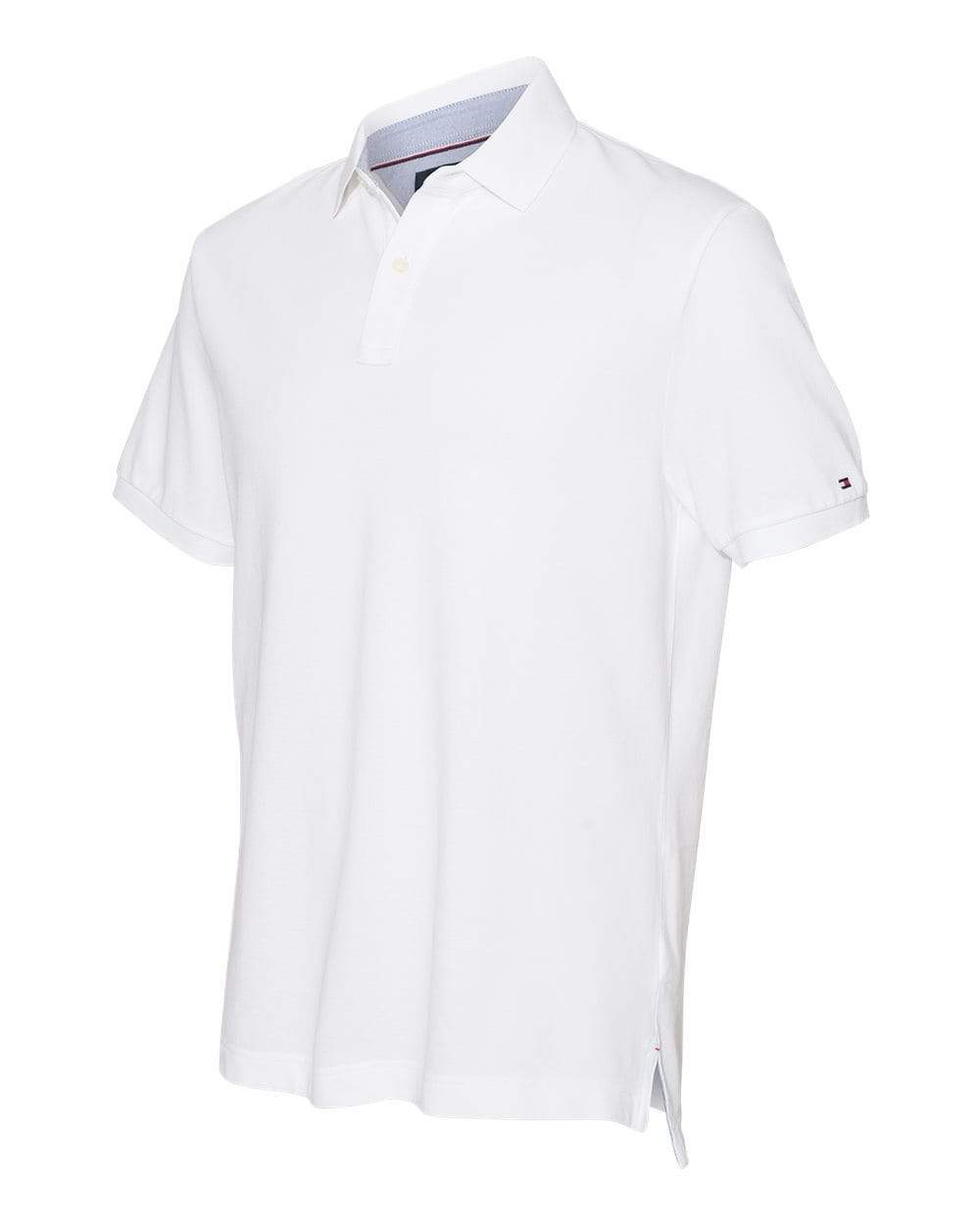 Tommy Hilfiger Polos S / White Tommy Hilfiger - Classic Fit Ivy Pique Sport Shirt