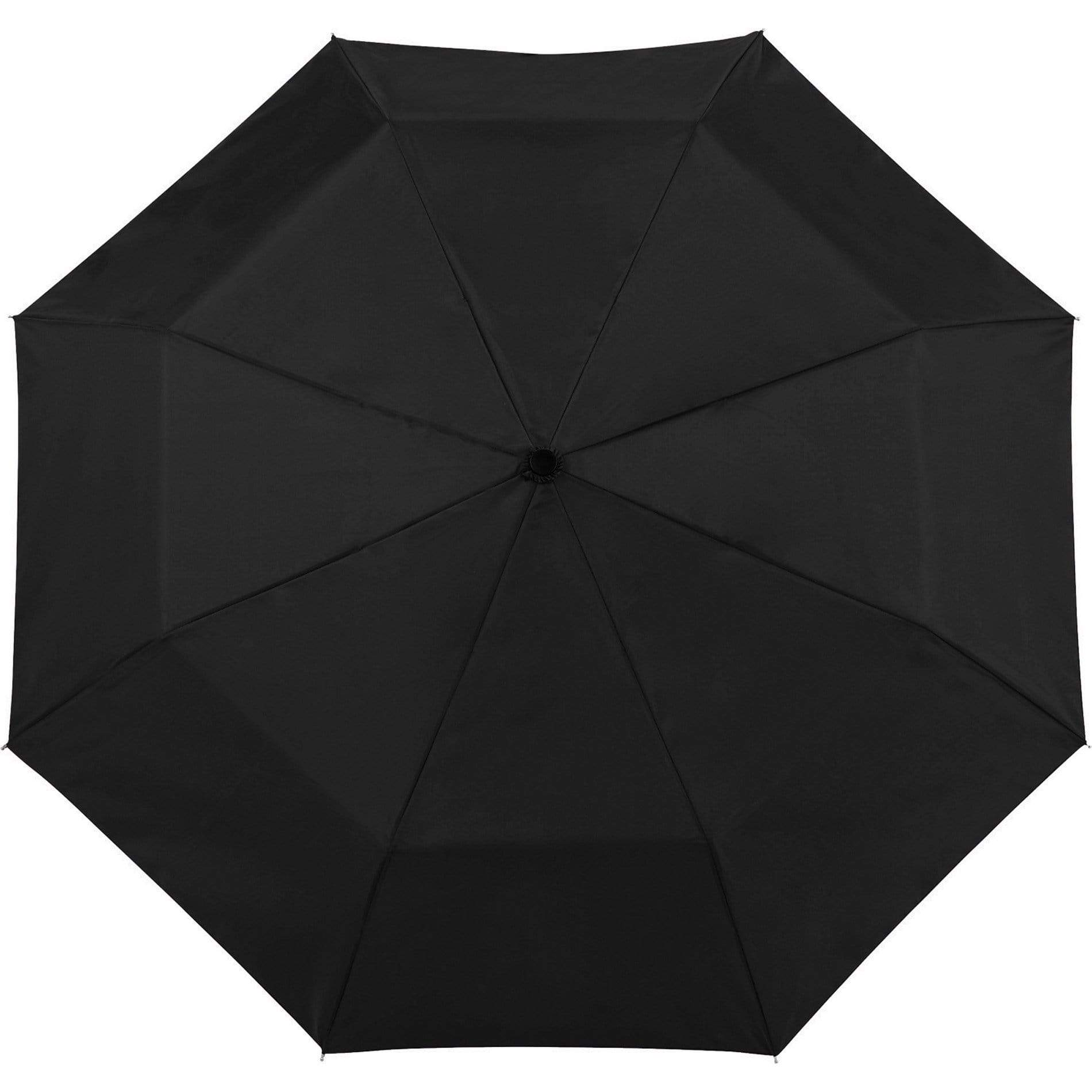 "Totes - 36 unit minimum Accessories 42"" / Black Totes - 42"" 3 Section Auto Open Umbrella"
