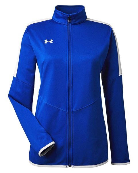Under Armour Activewear S / Royal Under Armour - Women's Rival Knit Jacket