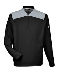 Under Armour Layering S / Black Under Armour - Men's Corporate Triumph Cage 1/4 Zip Pullover