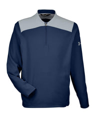 Under Armour Layering S / Midnight Navy Under Armour - Men's Corporate Triumph Cage 1/4 Zip Pullover