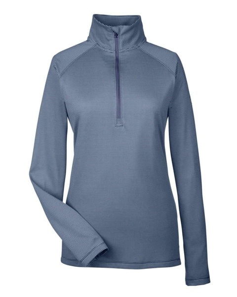 Under Armour Layering XS / Midnight Navy Under Armour - Women's Tech Stripe Quarter Zip