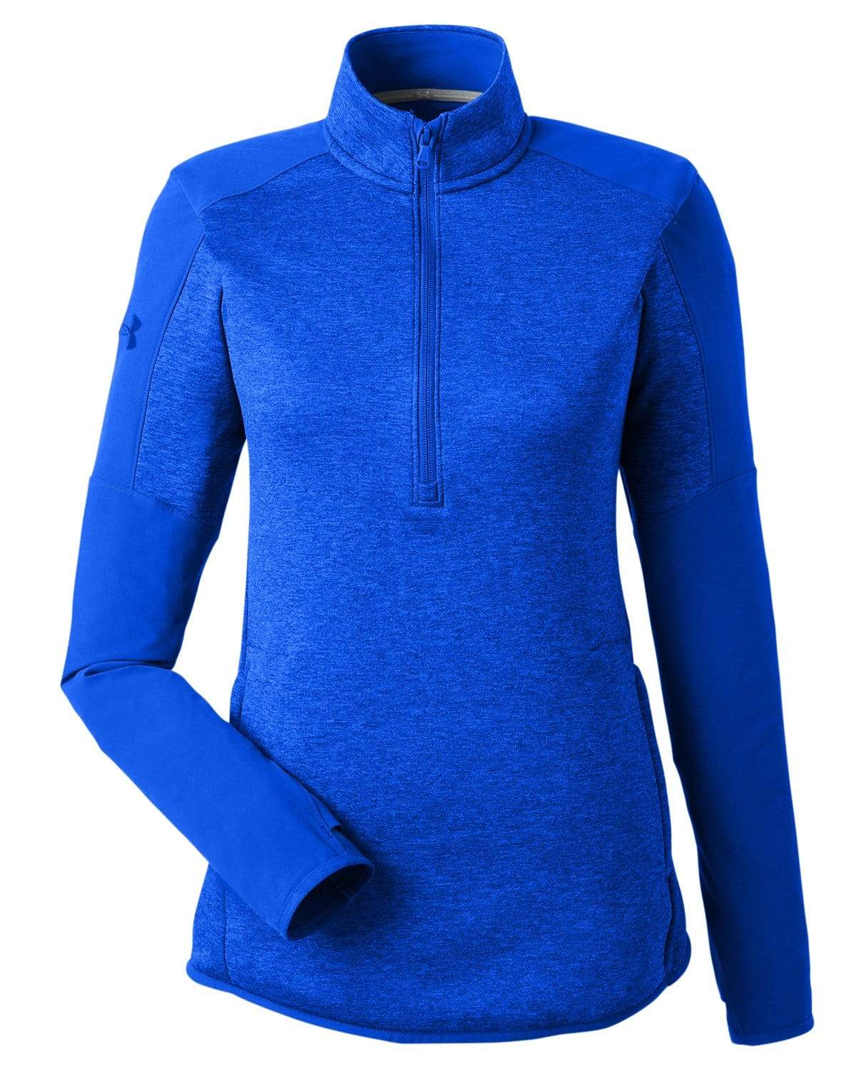 Under Armour Layering XS / Royal Under Armour - Women's Qualifier Hybrid Corporate 1/4 Zip
