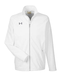 Under Armour Outerwear S / White Under Armour - Men's Ultimate Team Jacket