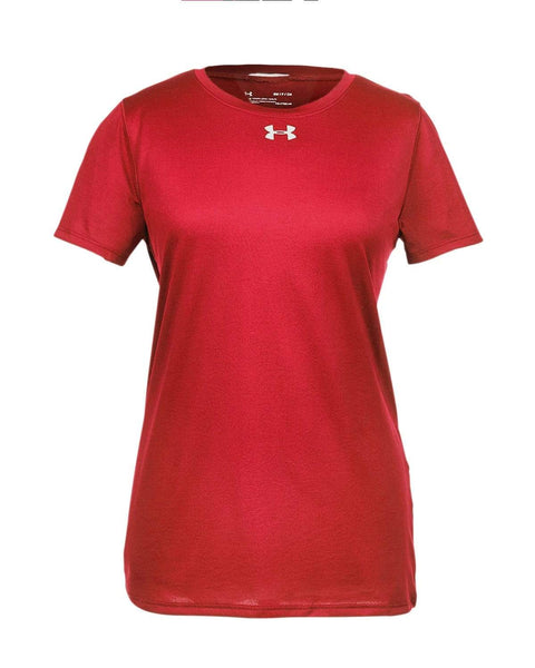 Under Armour Sweatshirts XS / Red Under Armour - Ladies' Locker T-Shirt 2.0