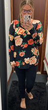 Load image into Gallery viewer, *Plus Size* Floral Criss Criss Top