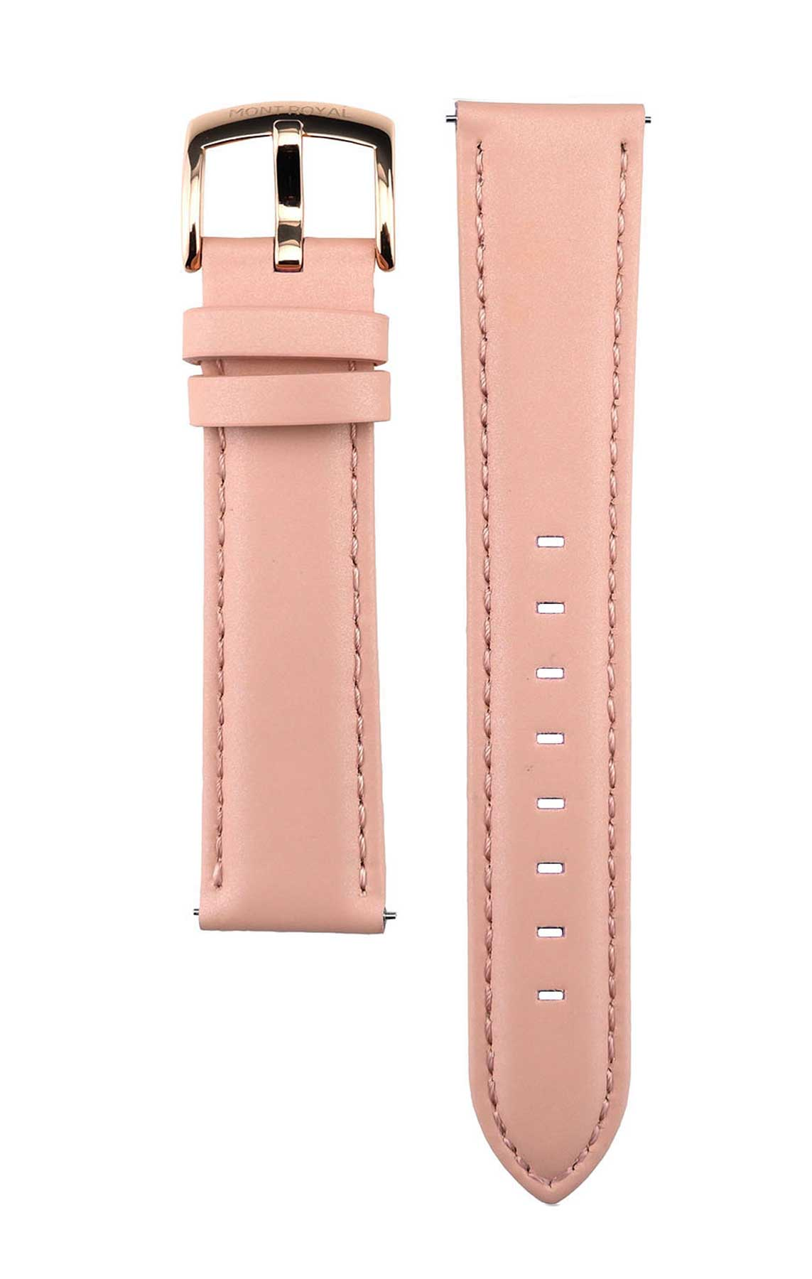 Pink Leather (Rose-Gold)