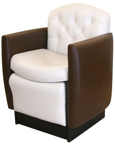 Tufted Plumbless Pedicure Chair