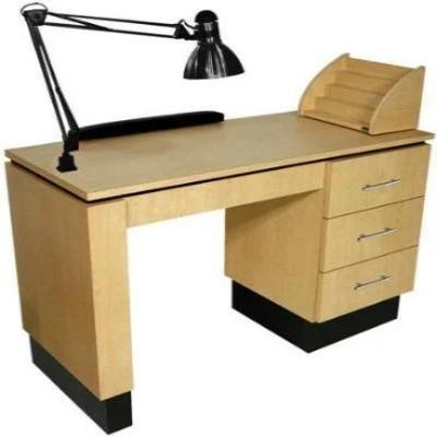 Ventable PS Exclusive ADA Manicure Table with Pop-up Source Capture Unit