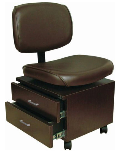 Pedi Tech Stool with Storage