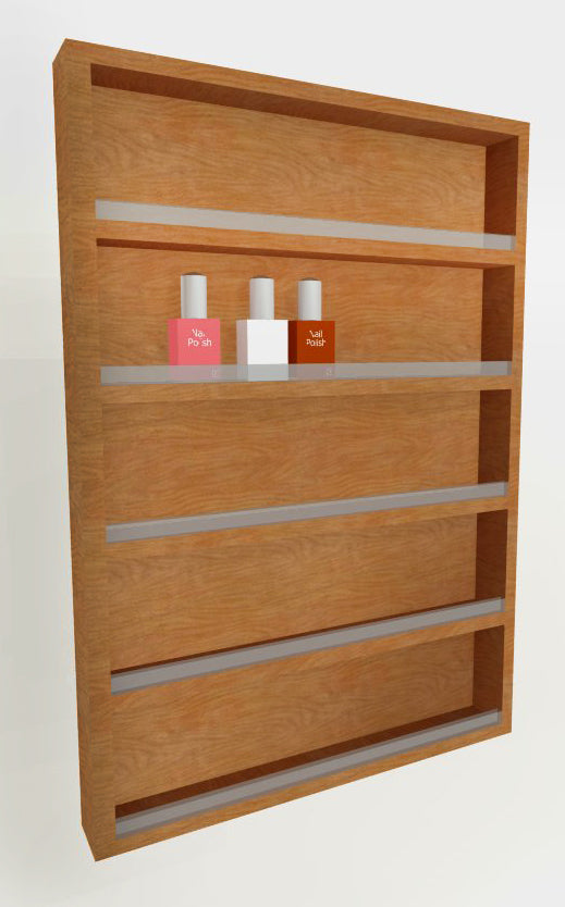 PS Exclusive Polish Rack with Shelf Lip