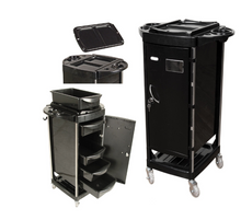 Portable Locking Metal Trolley