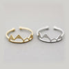 FREESHIPPING !! New Fashion Open Snow Mountain Rings