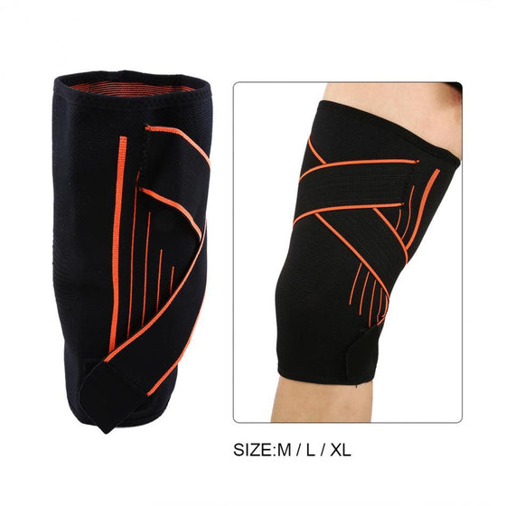 Knee Support Elastic Fitness Sports