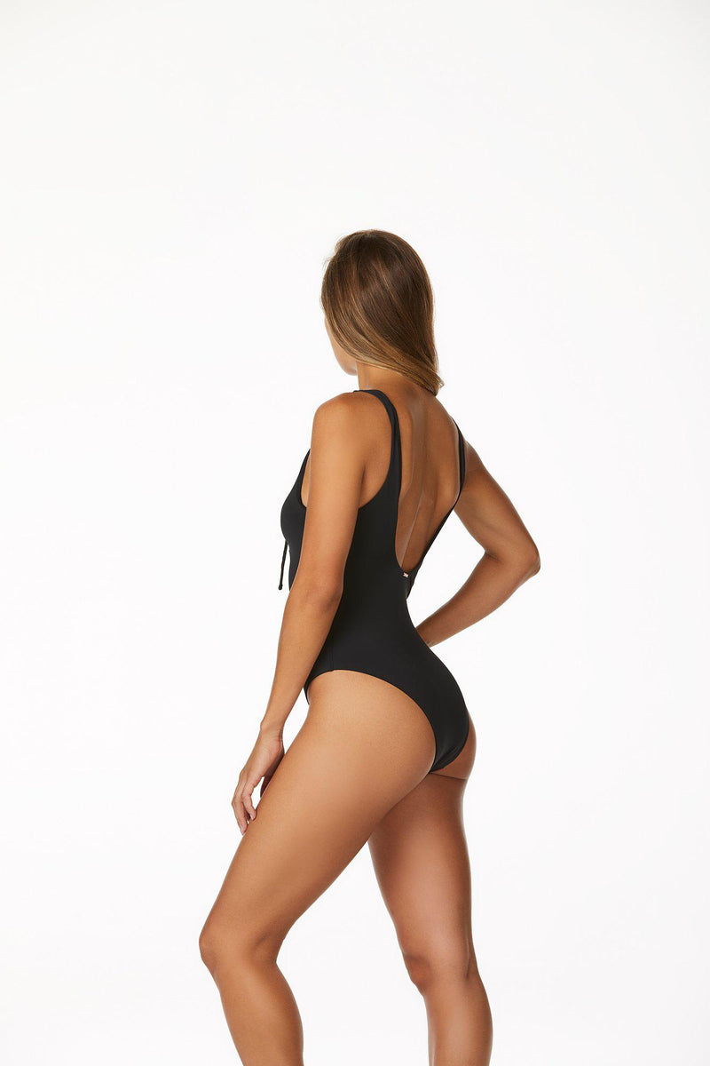 Radio Fiji Paloma One Piece in Ebony-One pieces-The Beach Edit
