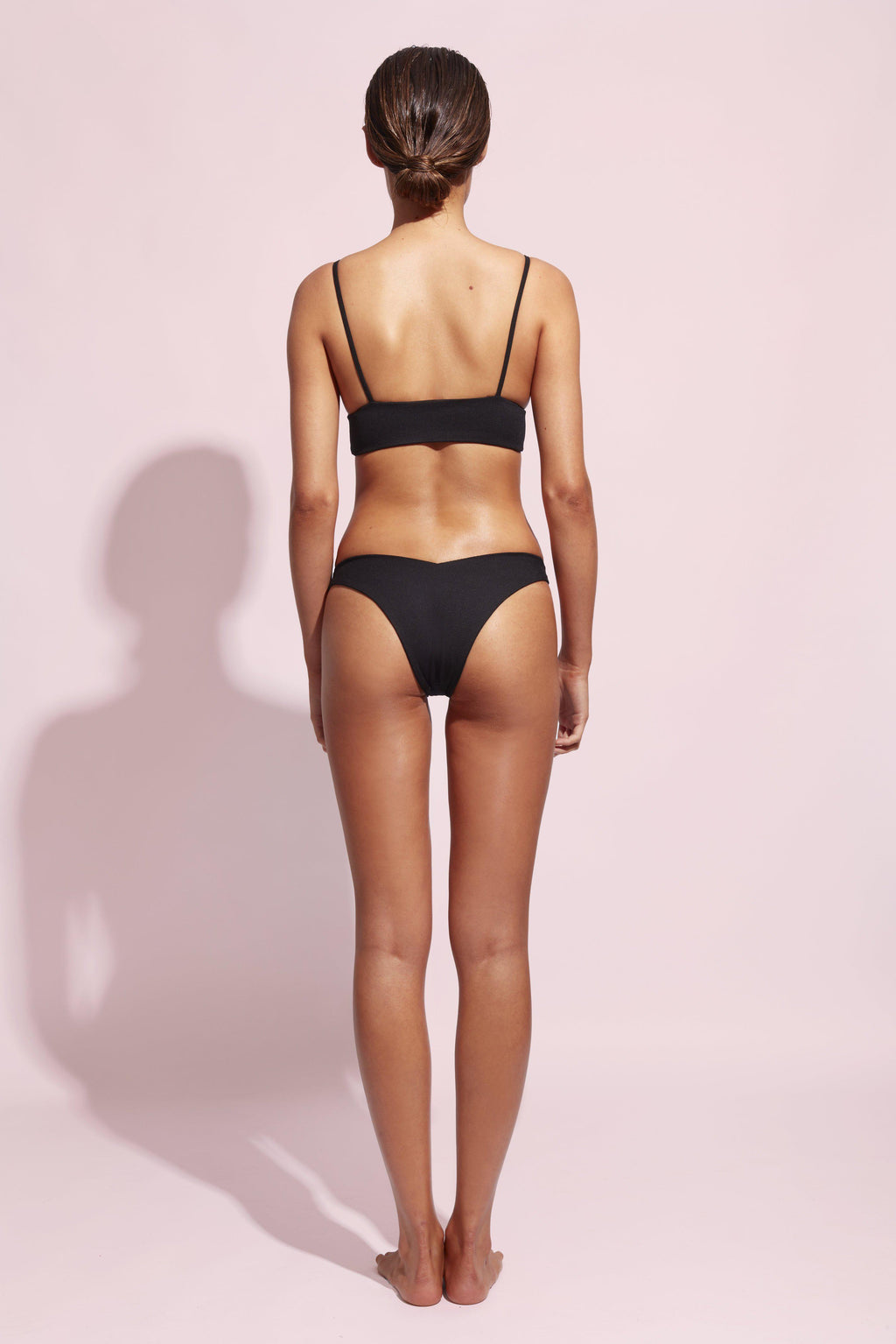 WILDASTER STELLA BOTTOM IN JET-bottoms-The Beach Edit