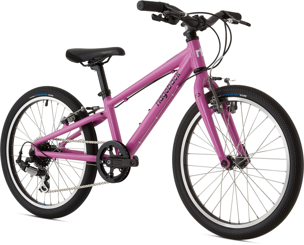 "Ridgeback Dimension 20"" Kids Bike ""PURPLE"""
