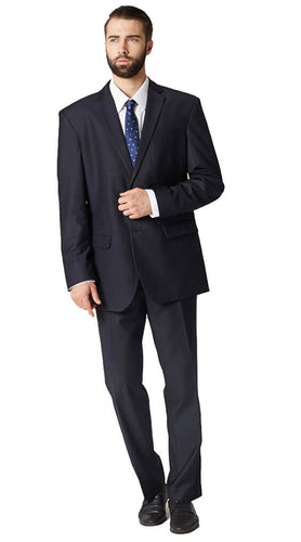 Midnight blue plain suit