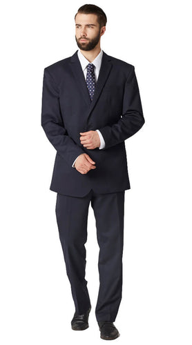 Essential navy suit
