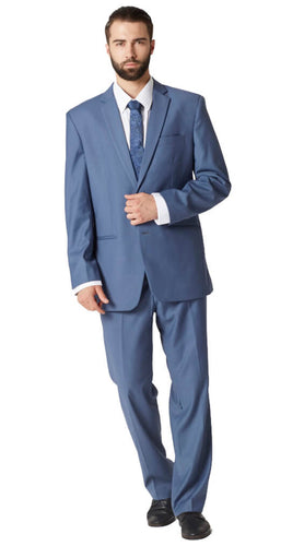 Paris blue nailhead suit