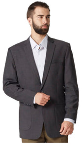 Micro patterned gray jacket