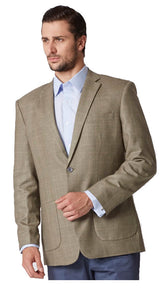 Prince of wales beige jacket