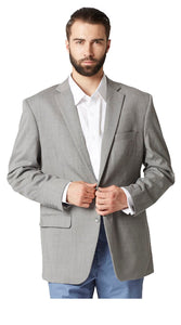 Plain gray jacket