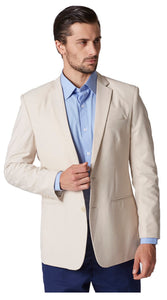 Plain beige jacket