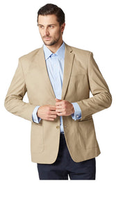 Plain khaki jacket