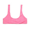 eco friendly pink bikini top