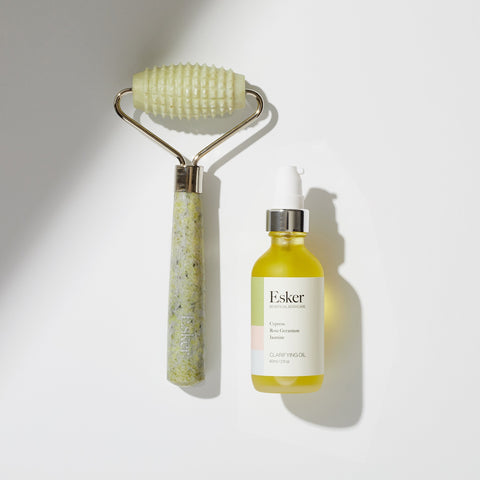 Allover Roller + Clarifying Oil Duo - Esker