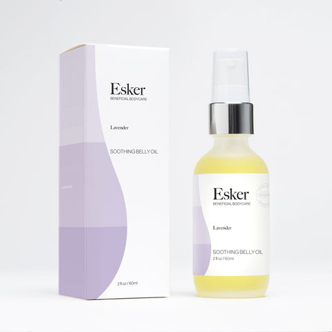 Soothing Belly Oil - Esker