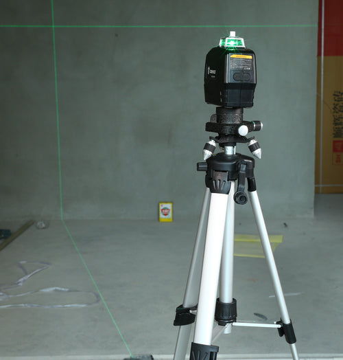 Laser Level with a Tripod